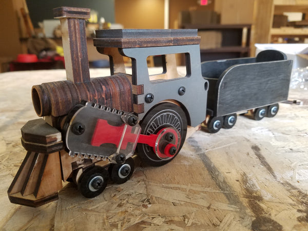 Liberty Steam Engine and Coal Tender