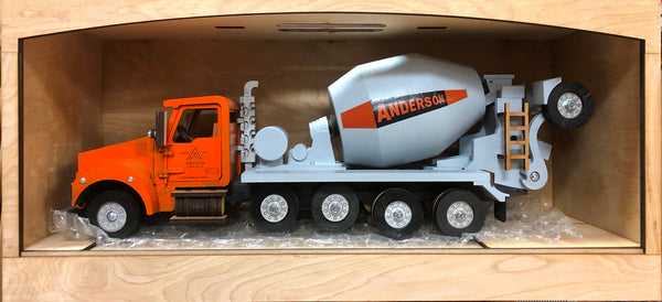 Custom Cement Mixer Truck (use Contact US form to Request A Quote)