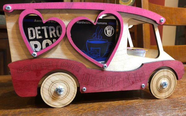 Coffee Love Toy Truck Kit
