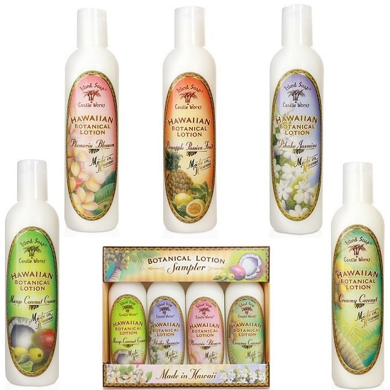 Don't let your lotion weigh you down...Island Soap & Candle Works Have The Perfect Summer Lotions!