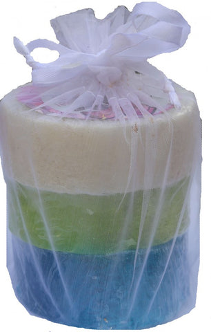 Bubble Shack Hawaii - Loofah Soap Trio Organza Set (3 Bars, Ocean Love Set)