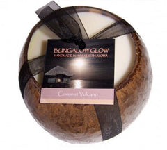 Bubble Shack Hawaii - Bungalow Glow Coconut Volcano Candle - Lilly's Bathcarry