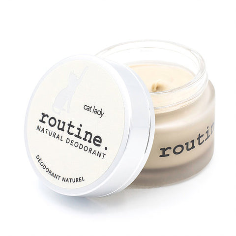 Routine Natural Deodorant Cream - Cat Lady
