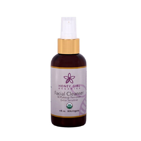 Honey Girl Organics - FACIAL CLEANSER & MAKEUP REMOVER EXTRA SENSITIVE