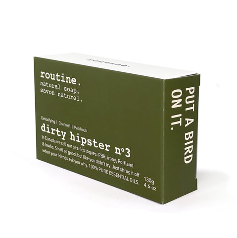 Routine - Dirty Hipster No3 Bar Soap