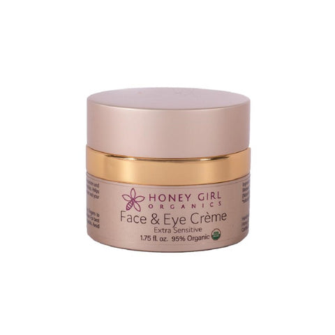 Honey Girl Organics - Extra Sensitive Face and Eye Creme