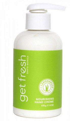 Get Fresh - Lemongrass Nourishing Hand Creme - Lilly's Bathcarry