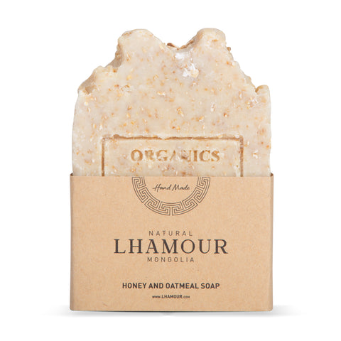 Lhamour Honey and Oatmeal Soap