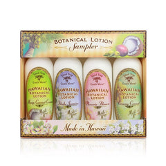 Island Soap and Candle Works - Hawaiian Botanical Lotion Sample Gift Pack - Lilly's Bathcarry - 1