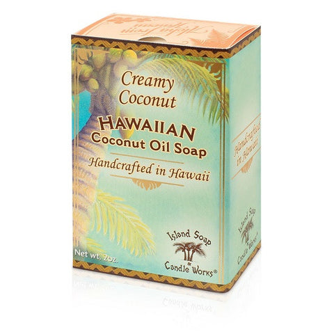 Island Soap and Candle Works - Hawaiian Creamy Coconut Bar Soap - Lilly's Bathcarry