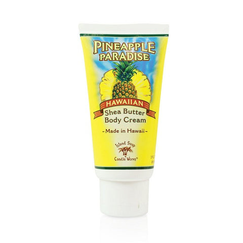 Island Soap and Candle Works - Pineapple Paradise Shea Butter Body Cream - Lilly's Bathcarry - 1