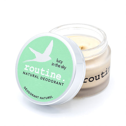Routine Natural Deodorant Cream - Lucy in the Sky