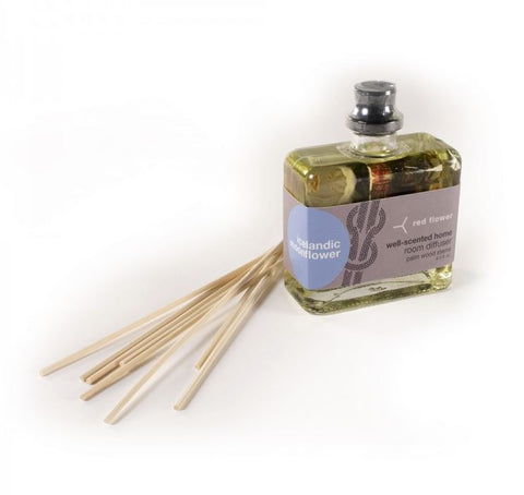 Red Flower - Icelandic Moonflower Intensely-Scented Organic Room Diffuser