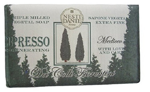 Nesti Dante Dei Colli Cypress Tree Bar Soap - Lilly's Bathcarry