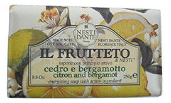 Nesti Dante - Il Frutteto Citron and Bergamot Bar Soap - Lilly's Bathcarry