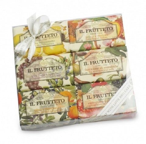 Nesti Dante - Il Frutteto Bar Soaps Gift Set - Lilly's Bathcarry