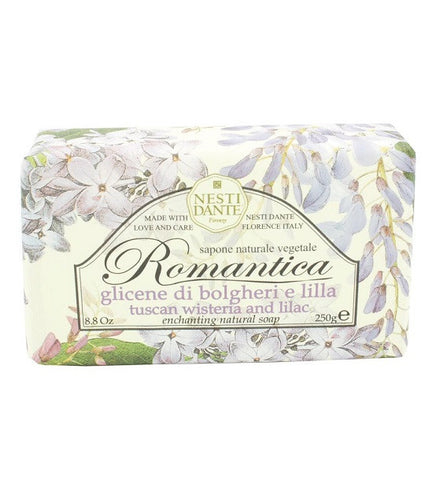 Nesti Dante - Romantica Tuscan Wisteria and Lilac Bar Soap - Lilly's Bathcarry