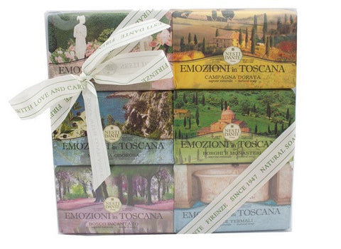 Nesti Dante - Emozioni In Toscana Bar Soap Gift Set - Lilly's Bathcarry