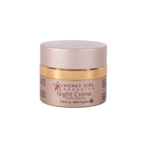 Honey Girl Organics  Night Creme - Extra Sensitive