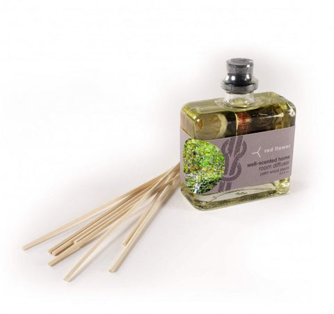 Red Flower - Palo Santo Intensely-Scented Organic Room Diffuser
