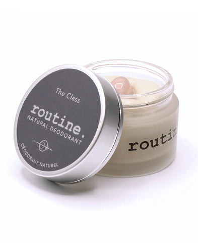Routine Natural Deodorant Cream - The Class Crystal Charged Luxury Scent