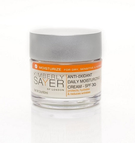 Kimberly Sayer of London - Anti-Oxidant Daily Moisturizing Cream – SPF 30 - Lilly's Bathcarry