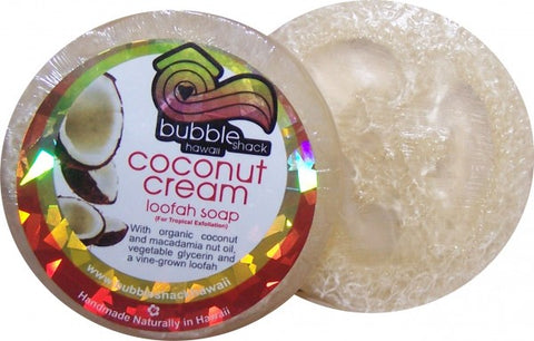 Bubble Shack Hawaii Loofah Lather Glycerin Soap