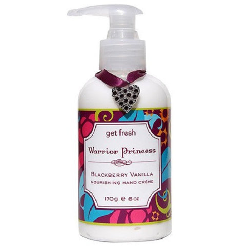 Get Fresh - Warrior Princess Blackberry Vanilla Nourishing Hand Creme - Lilly's Bathcarry