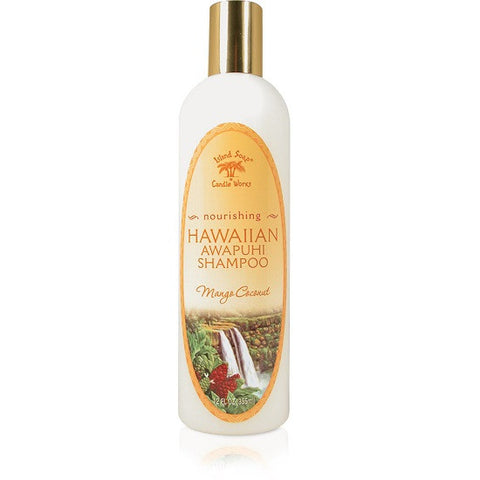 Island Soap and Candle Works - Hawaiian Awapuhi Nourishing Mango Coconut Shampoo - Lilly's Bathcarry