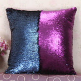 Reversible Mermaid Sequin Pillow cover Magical Color Changing cushion cover
