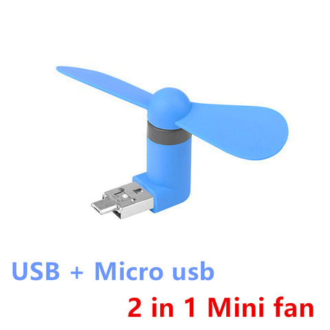 2 in 1 USB Power Bank Fan
