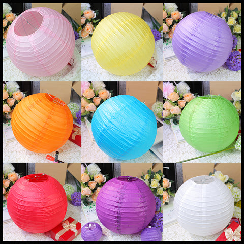 10 Pcs Paper Lantern Lamp Decor
