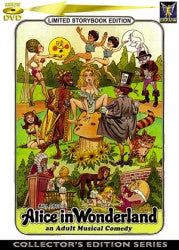 Alice in Wonderland XXX on DVD
