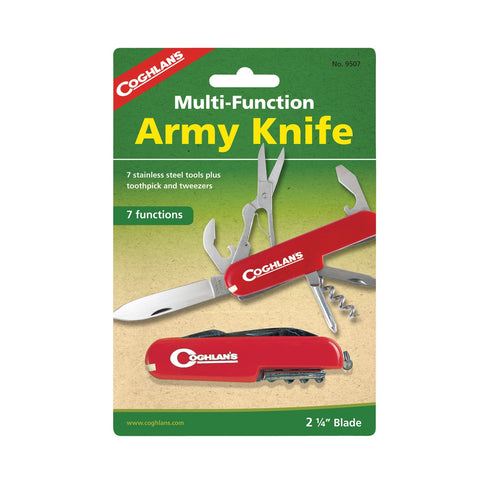Army Knife - 7 function - Up The Nipissing