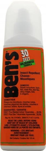 Bens 30% Deet Repellent 120mL - Up The Nipissing