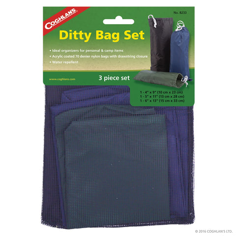 3 Piece Ditty Bag Set - Up The Nipissing