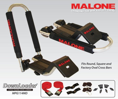 DownLoader Fold Down Kayak Carrier | Malone - Up The Nipissing