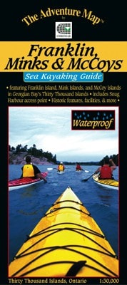 Franklin, Minks & McCoys - Sea Kayaking Guide - Up The Nipissing
