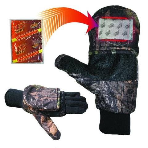 Heat Factory Pop Top Gloves - Up The Nipissing