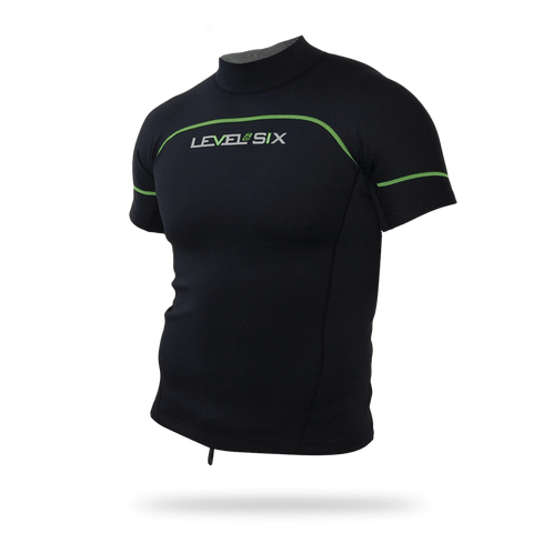 Men's Jericho Short Sleeve Neoprene Rash Guard - Up The Nipissing