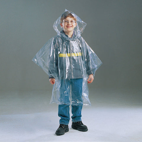 Kids Clear Poncho - Up The Nipissing