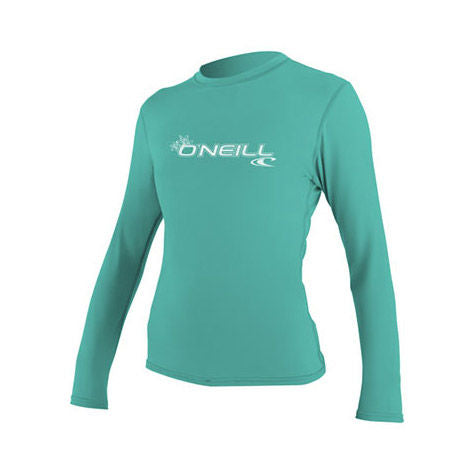 Women's Basic Skins Long Sleeve Rash Tee