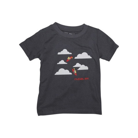 Boy's Sky Paddling Organic Cotton Shirt - Up The Nipissing