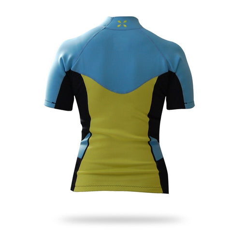Women's Sombrio Short Sleeve Neoprene Rash Guard