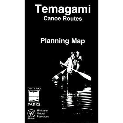 Temagami Canoe Routes - Planning Map