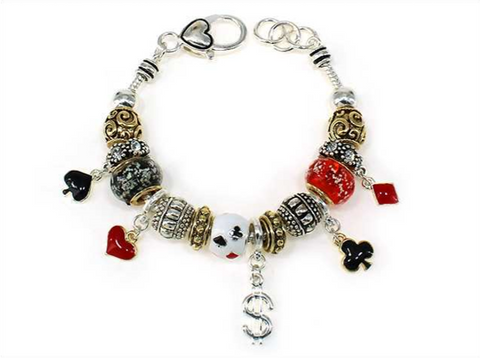 Casino Multi Bead Bracelet