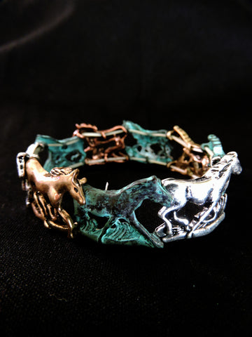 Racing Horse Stretch Bracelet