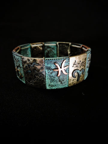 Zodiac Sign Stretch Bracelet
