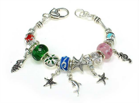 Sealife Multi Bead Bracelet