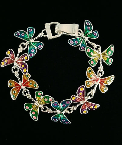 Butterfly Themed Bracelet-Multi